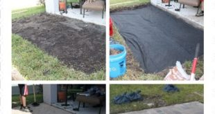 Tutorial on how to lay brick pavers. Visit CreativeUnravelin...