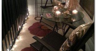 40 Inspiring Spring Apartment Patio Decor Ideas