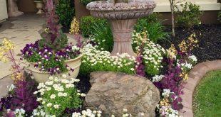 Produzieren Sie Ihren Vorgarten oder Garten. Das Aussehen eines Hofes ist kritisch, da ... ...