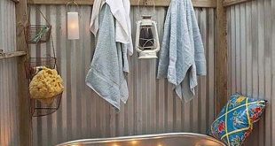 47 Fantastische Outdoor-Badezimmer, in denen Sie sich erfrischt fühlen