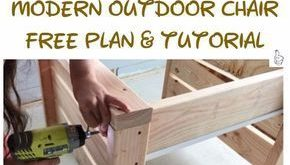 DIY Outdoor Seating Projects Tutorials & Free Plans