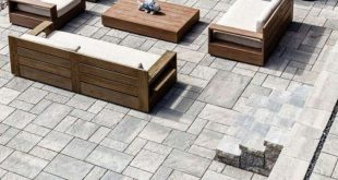 ✔ 60 small paver patio ideas pictures with fire pit 9