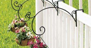 3 Schiene montieren hängen PLANTER Garden Deck Veranda im Freien Patio Decor Coco Line Pot - CARLOS PEREIRA