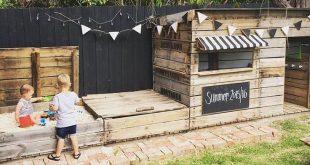 48 Cute Backyard Garden Playground Ideas