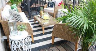 50 Die besten Ideen für ein Patio-Dekor im Apartment
