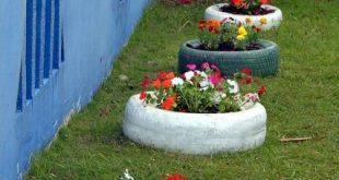 50 Gärten mit Reifen - Schöne und inspirierende Fotos