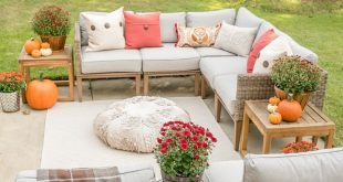 Affordable Fall Decor: 6 Tips for Southern Outdoor Patio Decorating and Fall Ent...
