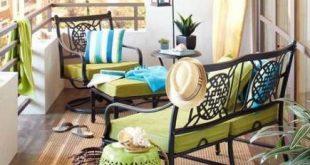 Apartment Patio Ideen auf einem Budget Balkone DIY Outdoor Living 26 Ideen