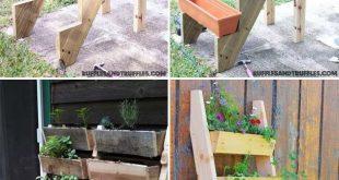 DIY-Ideen zum Bau eines vertikalen Gartens für kleine Räume