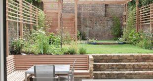 Exciting Garden Fence Ideas for Your Backyard Landscape Design: Contemporary Pat...