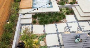 Garten im Quadrat gestalten – Kleine & große Außenbereiche strukturieren