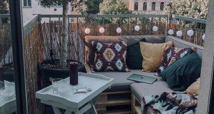 Klein aber fein ✨ Auch aus einer kleinen Terrasse kann man echt viel rausholen... - #Aber #auch #aus #echt #einer - Strange Pins