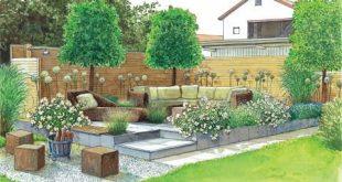 Zwei Ideen für schöne Gartenecken